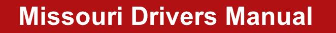 mo drivers manual